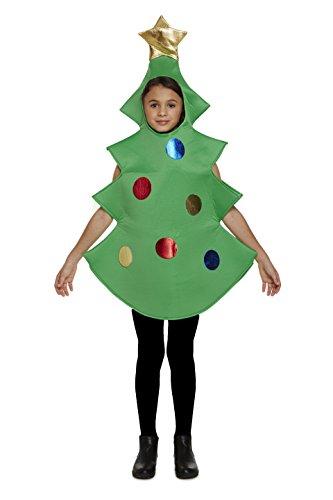 Bambino Albero di Natale Costume Età 4-6 anni