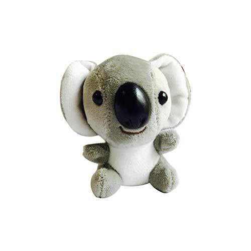 xMxDESiZ - Llavero de Peluche con diseño de muñeca de Koala (10 cm)