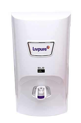 Livpure Glo 7-Litre RO + UV + Mineralizer Water Purifier (White)
