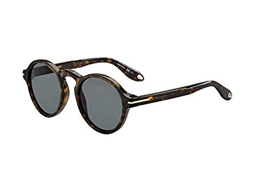 Givenchy gv 7001/s e5 086, occhiali da sole unisex-adulto, marrone (dark havana/grey), 51