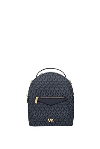 Michael Kors - Bolso mochila de Cuero para mujer Azul turquesa Small