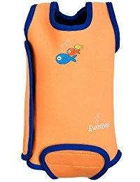 SwimBest Wetsuit für Babys, Ärmelloser Neopren Baby Schwimmanzug hält Babys im Wasser warm, Mädchen und Jungen 0-6 , 6-12 und 12-24 Monate, jetzt erhältlich