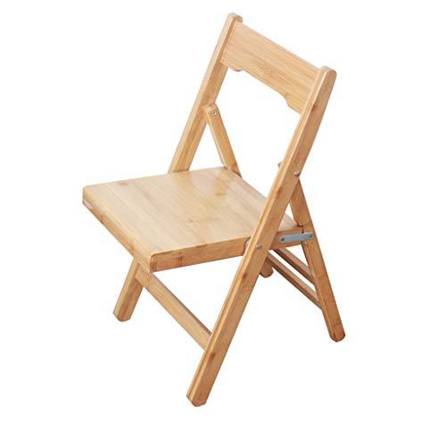 Tabouret - Chaise Pliante, Petit Banc pour la Maison, Chaise en Bambou/Tabouret portatif (Taille : 35 * 44 * 78cm)