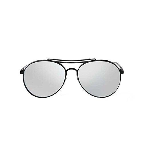 Black Temptation Strassenart und weiseart Katzenauge gespiegelte Metallrahmen Anti-UVA Anti-UVB Mehrfarben-Sonnenbrille