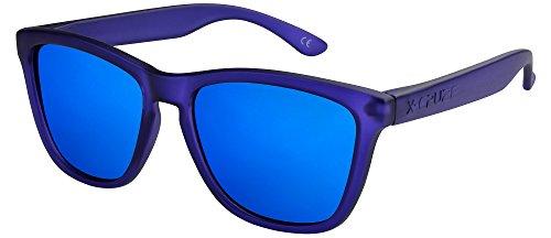 X-CRUZE 9-062 X0 Nerd Sonnenbrillen polarisiert Style Stil Retro Vintage Retro Unisex Herren Damen...