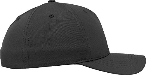 Flexfit Tech Flexfit Kappe Unisex für Damen und Herren, wetterbeständige Cap aus innovativem Material black