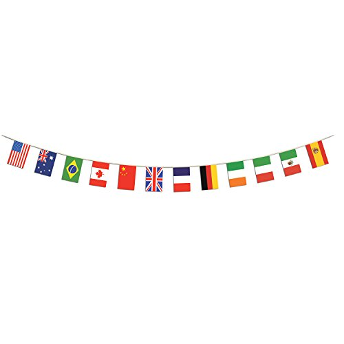 ational Flag Pennant Banner, 12