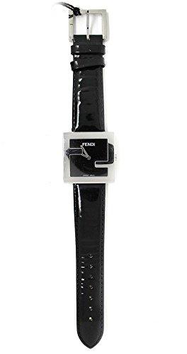 Fendi Armbanduhr Mod.4010Lederband schwarz