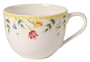 Villeroy & Boch Spring Awakening Tasse Kaffee Blumenwiese, Premium Porzellan, Mehrfarbig