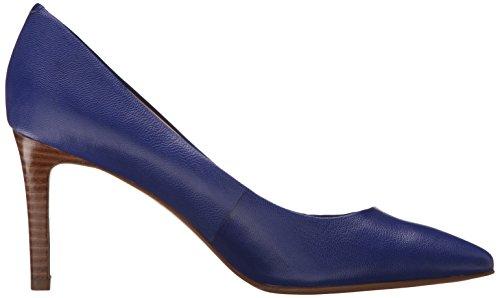 Nine West Charly Leather Pump Dress Dark Blue