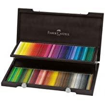 Faber Castell: POLYCHROMOS Bleistift: Holz Box Set von 120