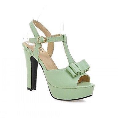 CH&TOU Da donna / Per bambinaMatrimonio / Ufficio e lavoro / Serata e festa-Spuntate-A stiletto-Finta pelle-Nero / Verde / Rosa / Beige beige