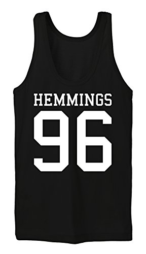 Certified Freak Hemmings 96 Tanktop Girls Black-S (Luke Hemmings Shirt 96)