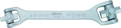 KS Tools 150.9302 8 in 1 Öldienst-Schlüssel, 270 mm