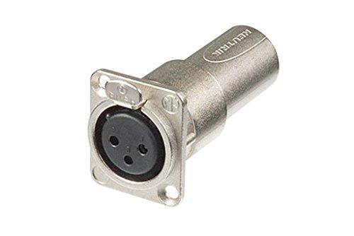 """1U 19/"""" Rack Mount D-Type Connectors 6 Port//Way//Hole XLR Patch Panel Audio"""