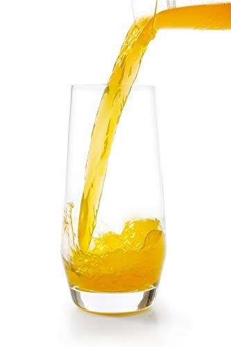 on 6 Gläser für Wein Wasser Trinken Hochball 550ml (19.0oz) ()