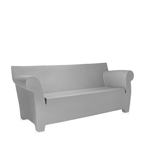 Kartell - Bubble Club 2-Sitzer Sofa - hellgrau - Philippe Starck - Design - Gartenbank (Sofa Club Bubble)