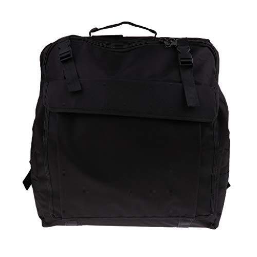 B Blesiya Verstellbare Schultergurte Akkordeontasche für Bass Akkordeon Gig Bag - 120 Bass