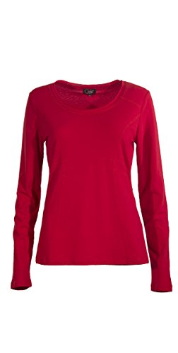 Coline - Tee shirt manches longues Rouge