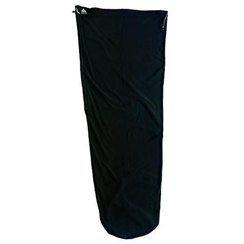 Kelty Lightweight Fleece Sleeping Bag Liner – Black