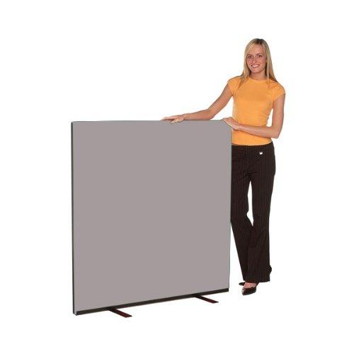 Office Screen 1200mm w x 1200mm h, nyloop fabric Grey Test