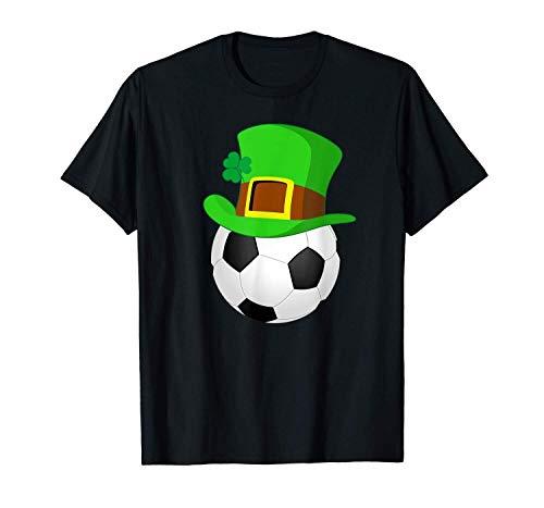Gmkj Camiseta de Manga Corta con Estampado de Camiseta de Manga Corta para Hombre del fútbol St. Patrick's...