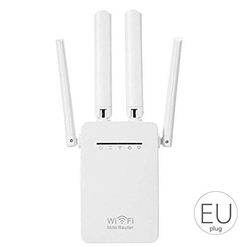 Pandiki 300Mbps-Wireless-WIFI-Router Wireless-LAN Repeater Home Network Booster Antenne Sky WPS Signal Range Extender