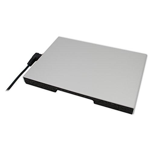 thermo Gastro-Wärmeplatte GN 1/1 (325x470x34mm, mit Euro-Zentralstecker, abnehmbar)