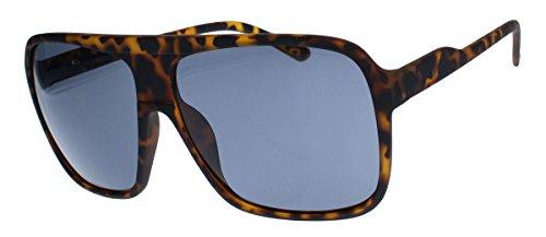 Old School Sonnenbrille Herren Nerd Brille 80er Jahre Flat Top oversized MODELLWAHL F79 (M1:...