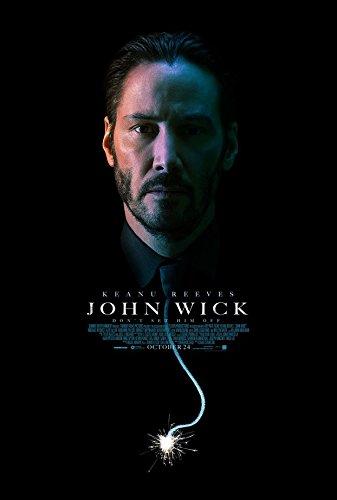 Preisvergleich Produktbild 4-HOD568 John Wick 35cm x 52cm, 14inch x 21inch Silk Print Poster