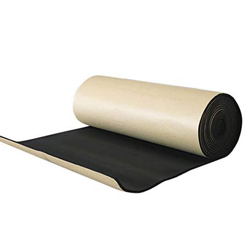 kelihood 8mm schwarz schalldichte Baumwolle wasserdicht feuchtigkeitsfest Matte für Auto Wohnung klassenzimmer Fabrik
