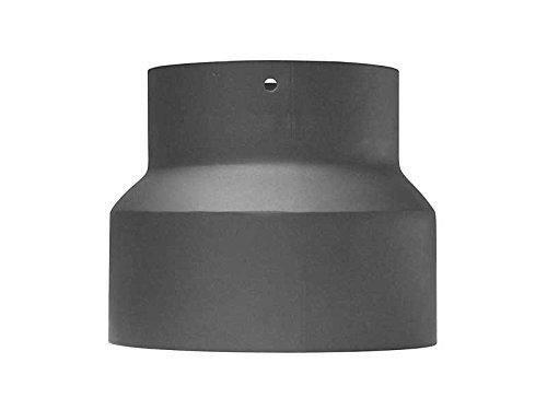 Abgassysteme Rauchrohr - Ofenrohr - Reduzierung, Farbe:gussgrau;Größe:von 150 mm auf 120 mm