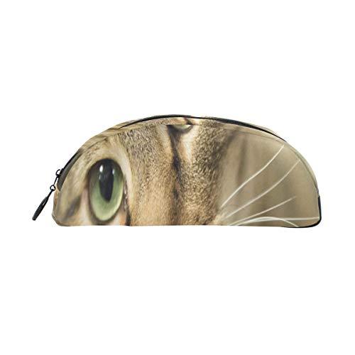 Animal Cabeza gato grande hermosos ojos verdes Bolso