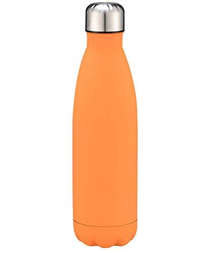 YOJDTD Wasserbecher Outdoor Sports Travel Mug, Orange_500ml -