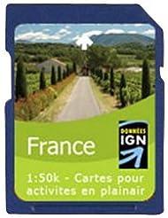Satmap GPS System Karte 1:50000 Frankreich