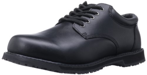 Grabbers Men's Friction G1120 Work Shoe Slip-resistant Steel Toe Oxfords