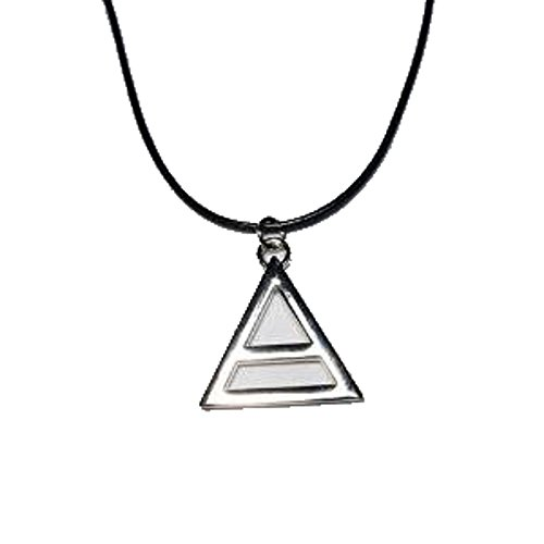 COLLANA CIONDOLO TRIANGOLO TRIAD TRIADE 30 THIRTY SECOND TO MARS THIS IS WAR