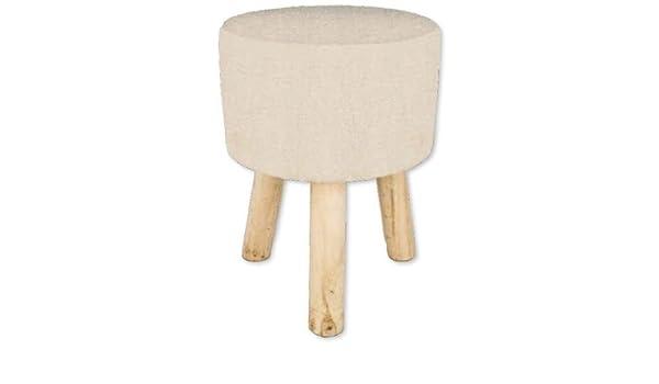 Viscio trading sgabello oslo legno crema cm