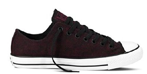 Converse - Chuck Taylor All Star Ox Chaussures Burgundy/Black