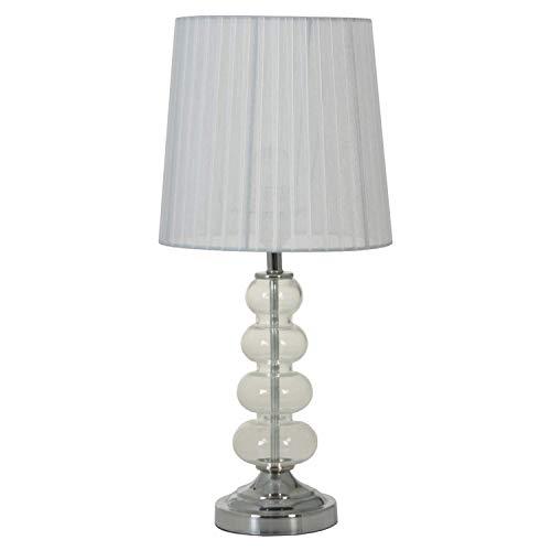 DonRegaloWeb Lampe de Bureau en métal et Verre