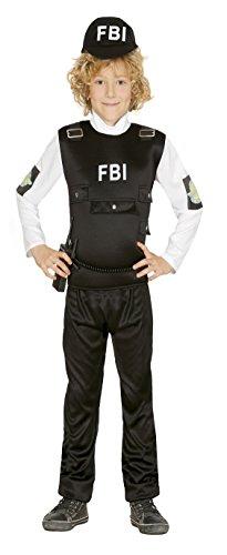 (Guirca Kostüm 7–9Jahre Polizei FBI, U (85962.0))