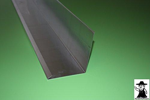 Wandanschlußblech 2 m lang Titanzink 0,7 mm (mittel)