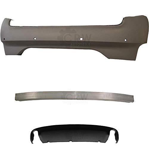 Preisvergleich Produktbild Set Stoßstange hinten grundiert für A6 4F C6 Bj 04-08 nur Limousine +Träger