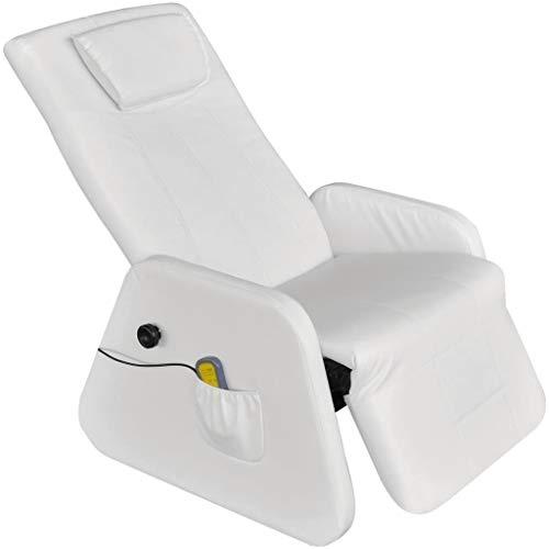 vidaXL Massagesessel Fernsehsessel TV Sessel Relaxsessel Zero Gravity Kunstleder