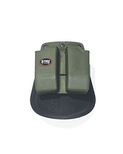 Fobus Double Mag Magazine ROTO Rotating Paddle D. Mag Pouch 9mm Od Green -