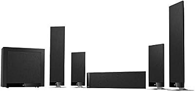Kef T205 Sistema Home Theater 5.1, Nero al miglior prezzo su Polaris Audio Hi Fi