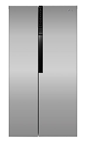 LG Electronics GS 9366 PZQZB Side-by-Side Kühl-Gefrier-Kombination (A++, 179 cm Höhe, 396 kWh/Jahr, 406 L Kühlteil, 220 L Gefrierteil, Linear Kompressor, Total No Frost Nie wieder abtauen)