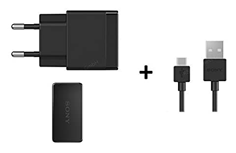 Sony Original Chargeur avec câble de charge compatible EP880EC803pour Xperia Z4Z3Z2Z1