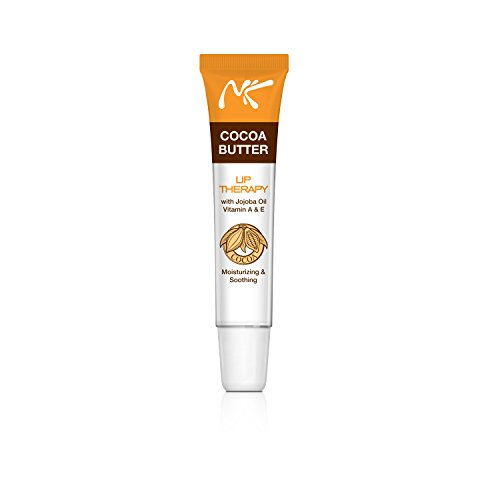 CoCoa Butter Lip Therapy with Jojoba oil vitamin A & E Moisturizing and Soothing by Nicka K