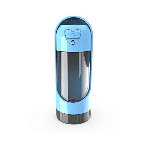LSX PET Portable Water Bottle-Hanging Portable Trinkwasser Flasche Antibakterielle Lebensmittelgrader Leakproof Dog Outdoor Travel Drinking Water Bottle 300Ml (Grün),Blue - Halter Kfz-versicherung